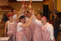 Team Building / Our fun and friendly competitive team building events and cooking competitions.