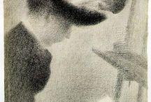 Seurat, Georges - Desenho / Drawing