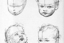 baby skisser