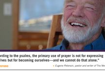 Eugene Peterson / http://www.patheos.com/blogs/fuller/2016/04/11-sayings-of-bono-on-the-psalms/  https://fullerstudio.fuller.edu/bono-eugene-peterson-psalms/   https://www.goodreads.com/author/quotes/27926.Eugene_H_Peterson?page=3