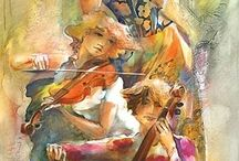 Violin y cello / by Lorena Torres