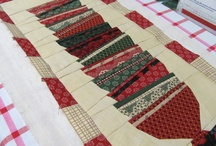 Quilted table runners / Table runner