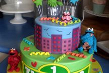 I plan birthday parties - Sesame Street