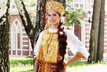 Russian Traditional costume / Russki dress