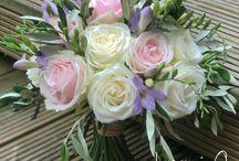 Jacqui O Bridal bouquet