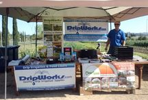 Events DripWorks Attends / DripWorks loves to attend community events, trade shows and conferences to spread the word about Drip Irrigation. We enjoy educating everyone on how to SAVE WATER, TIME & MONEY!