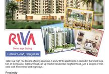 Tata Riva / Tata Riva - a senior living township which offers its residents the benefit of living an independent lifestyle during the best years of their life. These 1 & 2 BHK apartments are located on Tumkur Road Bangalore.
