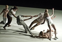 Contact dance impro moments