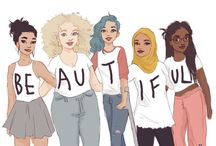 * BODY • IMAGE * / We're all beautiful, in all our different shapes, sizes, races and attitudes