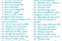 #HappyFitMarch Challenge / Instagram, Twitter and Facebook Challenge for the month of March. Get healthy and live fit!