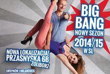 BIG BANG - nowy sezon 2014/2015 w Salsa Libre! / Mnóstwo bardzo ciekawych kursów w nowym studiu Salsa Libre na Przasnyskiej 6b oraz w dotychczasowych lokalizacjach. Najlepsi znani instruktorzy Salsa Libre, nowi ciekawi prowadzący. TANIEC PASJA LUDZIE!