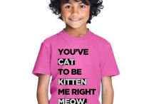 Cute t-shirts / Designs to make you go aww!