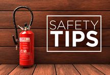 Safety Tips / Tips and tricks to help you stay prepared. Safety First!