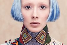 AVEDA  cut, color, styles / Each season Aveda surprises us with a new amazing line of custom colors and make-up!!