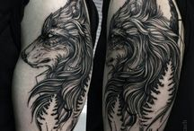 tatoo lobo