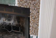 Redo fireplace / by Stephanie Estill