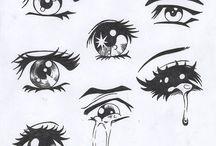 Dessins des yeux