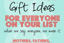 gifts / by Faith Filled Food for Moms