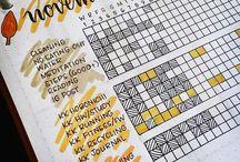 Notatnik, kalendarz, bullet journal