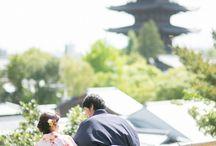 エンゲージメントフォト  engage photo / 京都の街並みでの私服ロケフォト集