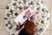 Dywany z pomponów