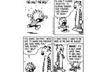 Calvin & Hobbes / by Emily Goodwin