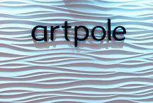 Artpole - Gesso 3D / Artpole è una linea di pannelli 3d in gesso porcellanato. Dopo aver spopolato in Russia, è arrivata anche in Italia con alcuni modelli!