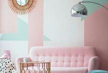 TREND: Green Palms with a touch of pink