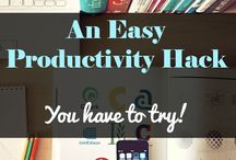 Organization & Productivity Hacks / Getting your life and work together
