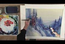 Уроки традиционного рисования. / Уроки по рисованию натуральными материалами