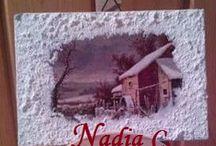 Quadretti di neve ... / Immagini innevate ...
