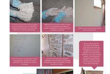 Chanvre et chaux en mur et rénovation / Image et rédaction HABITAT NATUREL