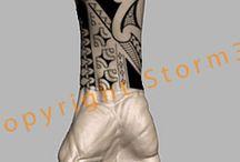 Tatouages de L'avant-bras