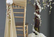 Chaises de mariage
