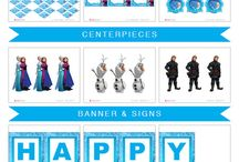 Party Ideas - Frozen