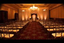 Ballroom At Church Street Draping And Lighting Ideas / Ceremony backdrop with swag and uplighting color choices. Spice up your decor with orlandodjandlighting.com