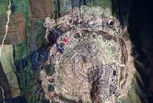 Slow stitching, Boro, Sachiko, Kantha, Mending mm