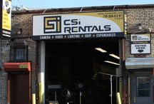 CSI Rentals  BK  / Shoot in Brooklyn? Live In Brooklyn?  CSI Rentals BK A full service Rental house in the heart of the BK photo art industry  with Lighting Grip Camera And Expendables