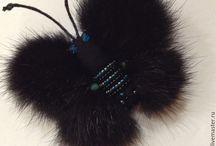 biżuteria z futerka//fur jawerly
