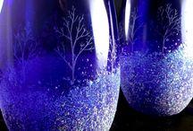 Artistic Wine Glasses