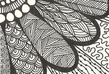 zendoodle/zentangle