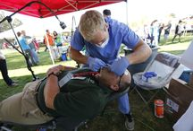 Healthy Athletes / The Special Olympics Utah Healthy Athletes program offers health services and information to athletes for free. At Summer Games and the Fall Sports Classic, athletes can visit on-site clinics to get their ears, teeth, eyes, and feet, among other things, checked out by volunteer health professionals.