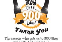 COMPETITIONS / Would you like to win a Pub Crawl for you and your friends? All deets here