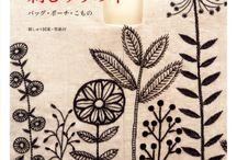 Fabrics. Embroidery