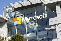 Case Study - Microsoft / Following a brand refresh, Microsoft engaged Signbox to supply new architectural signage across their UK campus in Reading.
