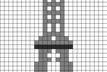 pixels/perles à repasser