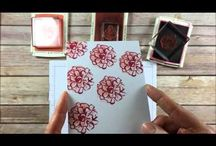 Cards - 2 or 3 step stamps