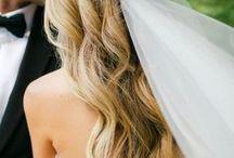 Brudehår og make-up