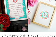 Sweet Rose Studio | Printables / A collection of all of the printables posted on Sweet Rose Studio. There's a little something for everyone: home decor prints, party printables, holiday printables, and much more!