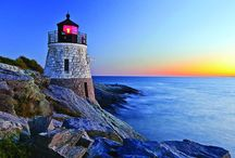 Travel: Lighthouses / Pretty pictures of lighthouses / by Lisa E.
